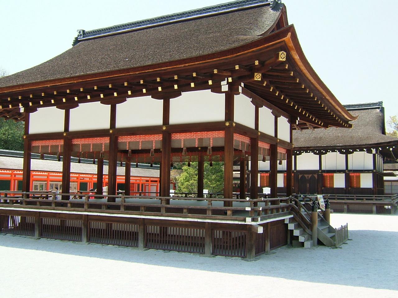 上賀茂神社でとりました